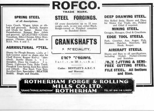 SPC563: rotherham forge and rolling mills 1