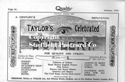 SPC575: taylors Eye Witness advert 1
