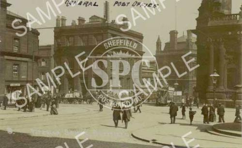 spc00020: Fitzalan Square, Sheffield, c. 1905 (NS10)