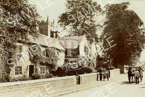 spc00040: Plague Cottages, Eyam, c.1905