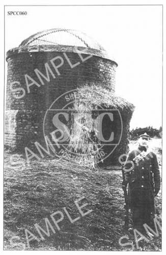 spc00060: Soldier guarding tunnel vent, Totley