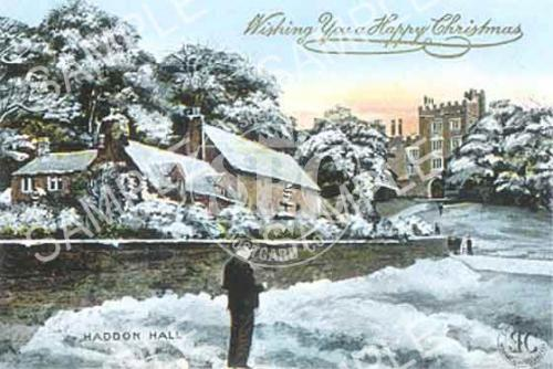 spc00082: Happy Christmas, Haddon Hall