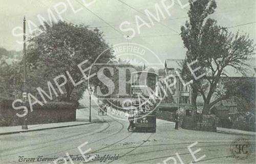 spc00088: Fulwood Tram terminus (Nether Green)