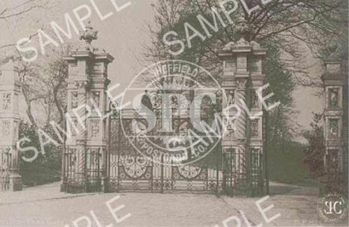 spc00104: Weston Park Gates, Sheffield