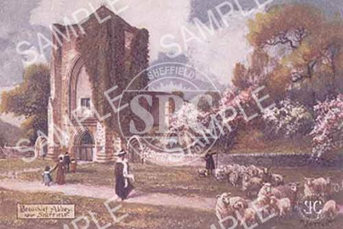 spc00114: Beauchief Abbey (colour)