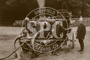 spc00116: Steam Fire Engine, Sheffield