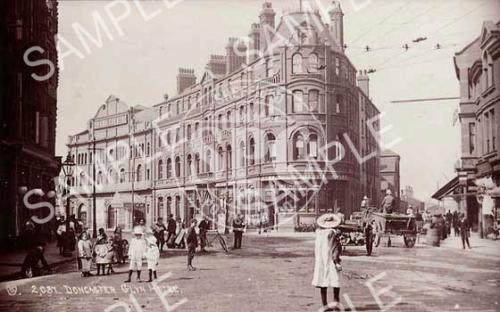 spc00125: Glyn Hotel, Station Road, Doncaster c.1904 (NDN3)