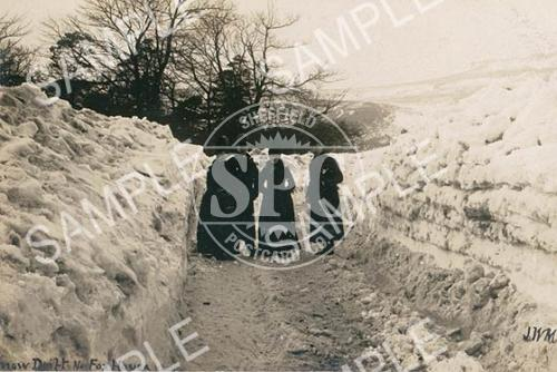 spc00135: Snow Drift Nr. Fox House