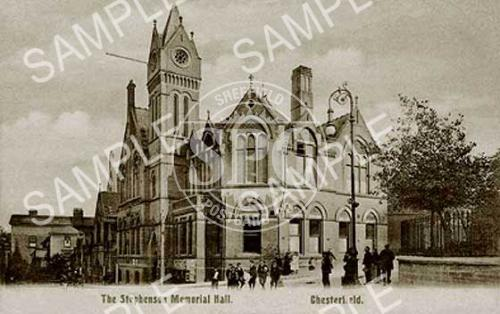 spc00148: The Stephenson Memorial Hall, Chesterfield