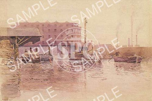 spc00158: Sheffield Canal Basin c.1902