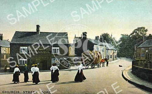spc00163: Church Street, Dore (Colour)