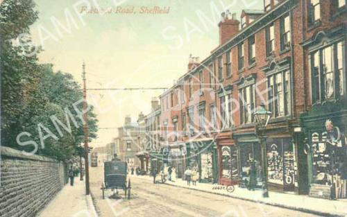 Broomhill, Fullwood Road & Shops (Colour)