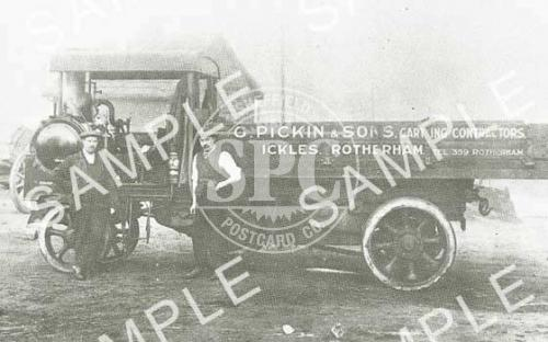 spc00174: Steam Lorry 'G.Pickin & Sons', Rotherham
