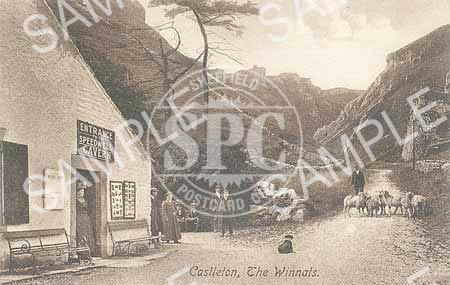 spc00198: Speedwell cavern, at the foot of the Winnats Pass, Derbyshire (ND1)