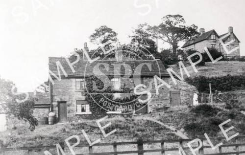 spc00205: Railway Cottages, Abbey Lane c. 1900