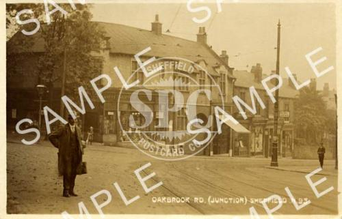 spc00209: Oakbrook Road (Junction), Sheffield