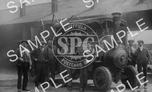 spc00210: Thos. Firth & Sons, Norfolk Works, Sheffield (Traction Engine)