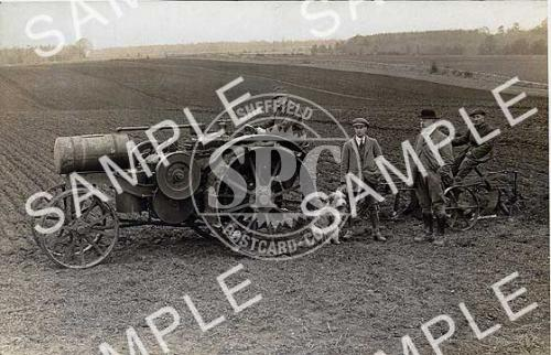spc00218: Tractor in fields.