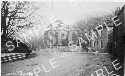 spc00234: Junction of Ecclesall Road and Carter Knowle Road, Sheffield.
