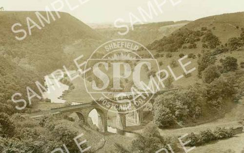 spc00237: Monsal Dale viaduct, Monsal Dale, Derbyshire (ND11)