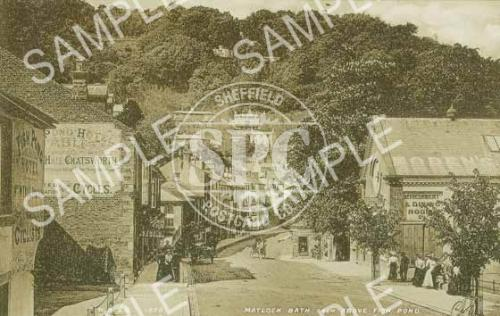 spc00238: South parade, Matlock bath in 1870 (ND12)
