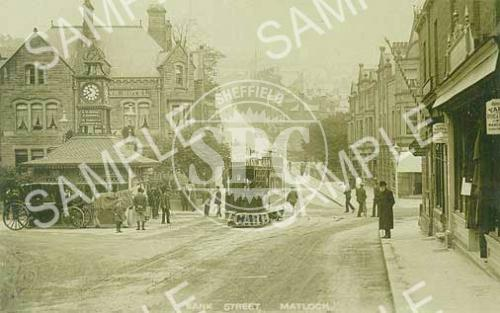 spc00241: Bank street, Matlock, Derbyshire c1904 (ND2)