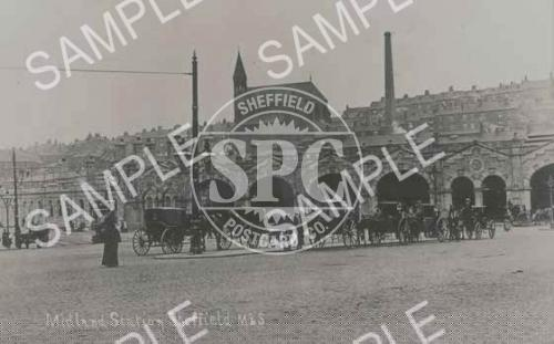 spc00252: Midland station, Sheffield, c 1903 (NS11)