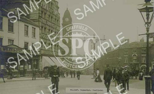 Haymarket, Sheffield, c1906 (NS9)