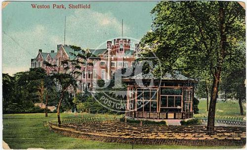 spc00276: Weston Park and University Sheffield