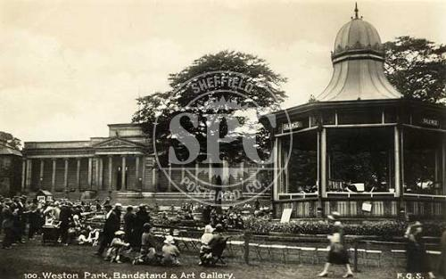 spc00277: Weston Park, Sheffield (Bandstand & Art Gallery)