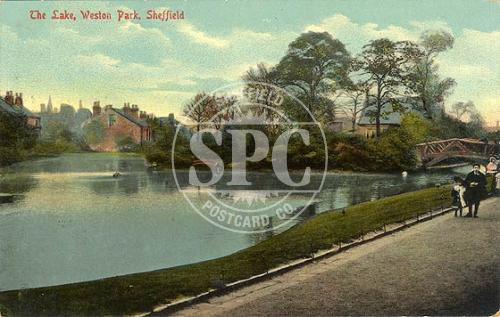 spc00282: Weston Park, Sheffield (The Lake)