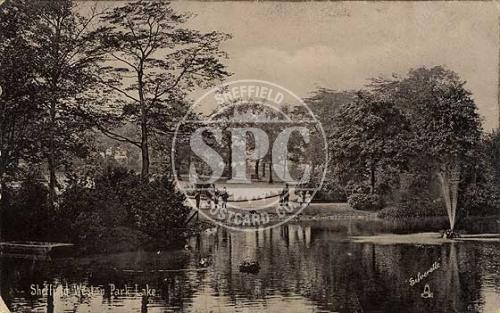 spc00283: Weston Park, Sheffield (The Lake)