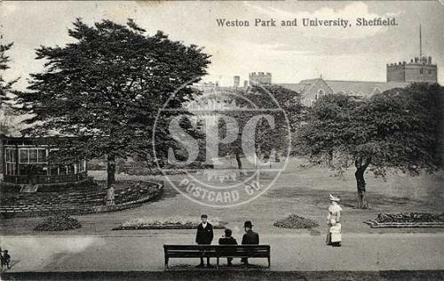 spc00284: Weston Park and University, Sheffield