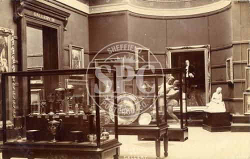 spc00286: Weston Park, Sheffield (Mappin Art Gallery Interior)