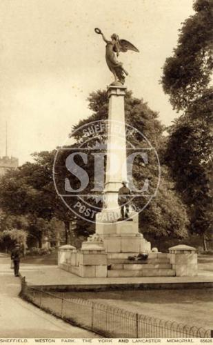 spc00287: Weston Park, Sheffield (The York & Lancaster Memorial)