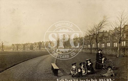 spc00294: Firth Park Road from the Park