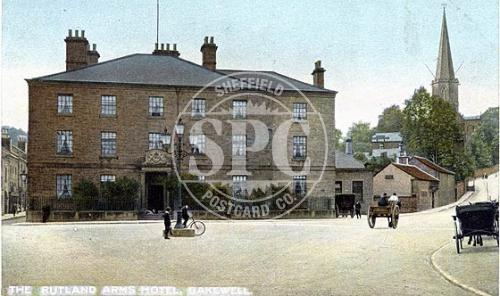 spc00312: The Rutland Arms Hotel, Bakewell, Derbyshire