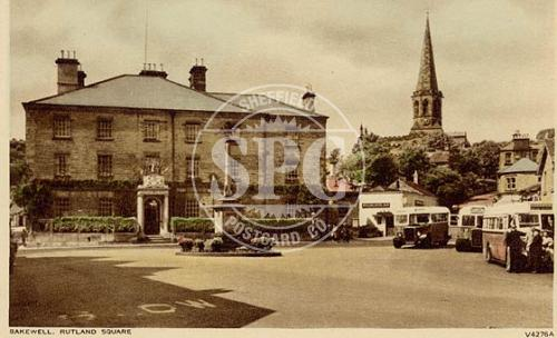 spc00313: The Rutland Arms Hotel, Bakewell, Derbyshire