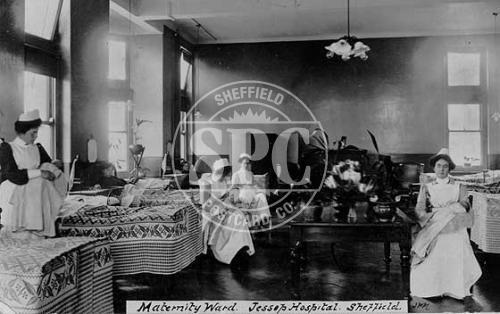 spc00322: Maternity Ward, Jessop Hospital, Sheffield