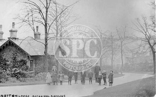 spc00326: Bottom Lodge, Botanical Gardens, Sheffield