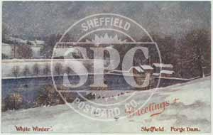 spc00446: Forge Dam in the Snow, Sheffield