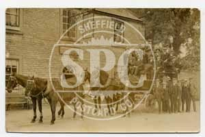 spc00468: Horse & Carriage in Hassop, Derbyshire