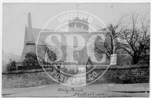 spc00494: Heeley Church, Sheffield