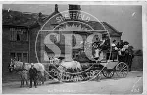 spc00496: Old Times Coach, Fox House, Derbyshire