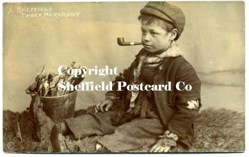 spc534: A Sheffield Timber Merchant (boy smoking pipe)