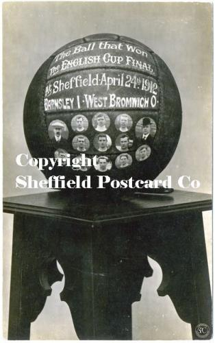 spc546: The Ball that won the FA cup in Sheffield 1912