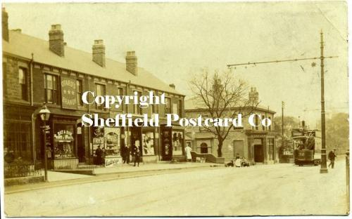 spc601: Millhouses Post Office, Abbeydale Rd (Tinsley on tram)