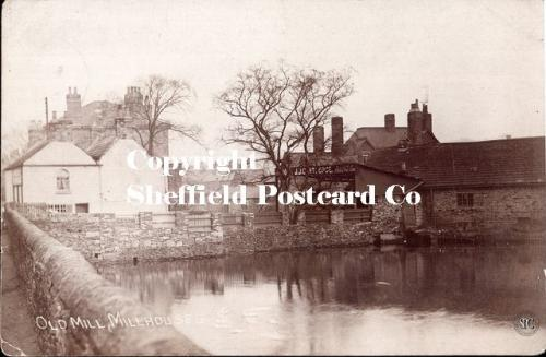 spc602: Old Mill, Millhouses (showing dam)