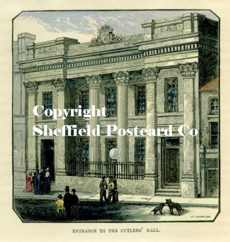 spc634: Sheffield - Cutler's Hall print.