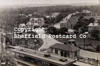 spc659: (uncaptioned) view over Beauchief & Abbeydale station. M&S (670).